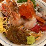 【茅ヶ崎】網元料理あさまる本店でランチ!海鮮丼のエビがプリップリで最高!