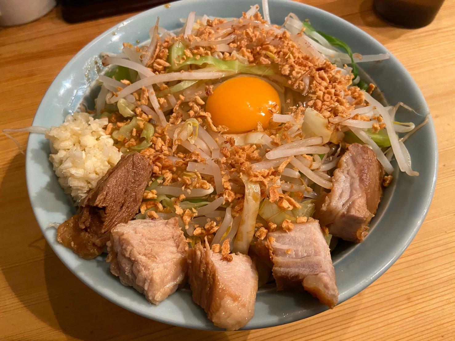 【茅ヶ崎】菜良(さら)であえそばを食らう!二郎系のインスパイヤラーメン屋さん。