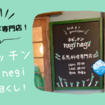 【辻堂】長ネギ専門店ネギッチン neginegi 湘南辻堂店に行ってきた!