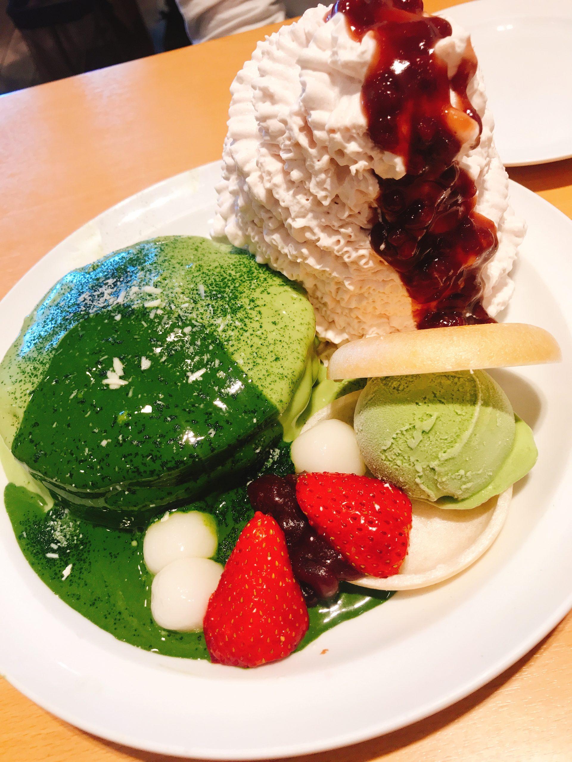 エッグスンシングス江ノ島パンケーキ