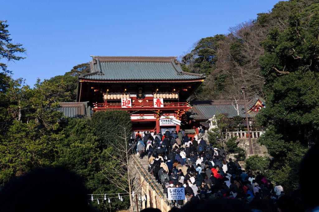 【2021年版】鶴岡八幡宮初詣の混雑状況は?コロナの影響で新年祈祷が変更!